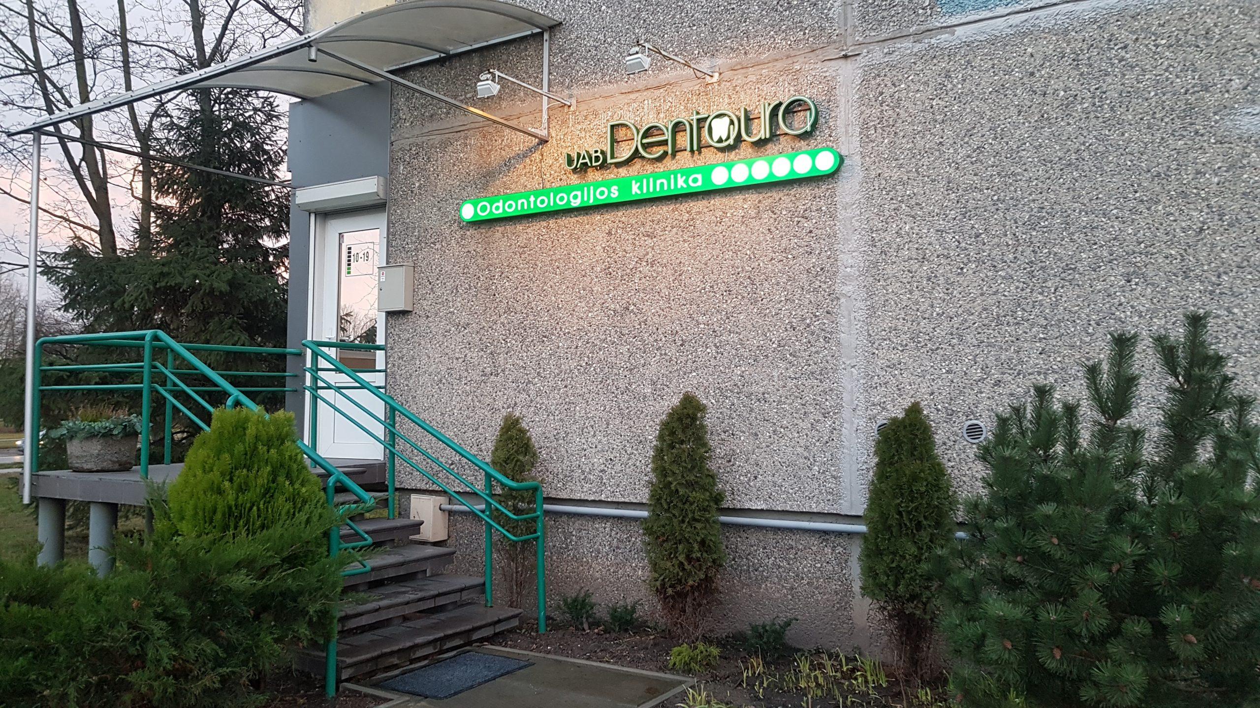 Dentaura Odontologijos klinika pastatas